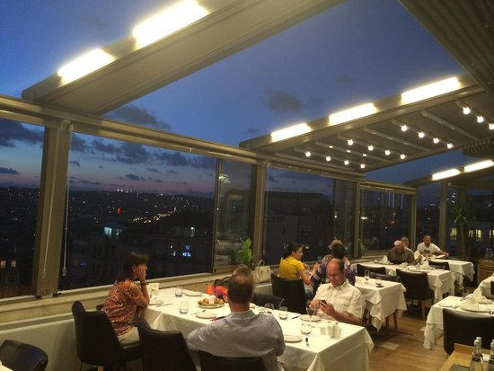 Istanbul Province, Turkey: Open roof, and nice view