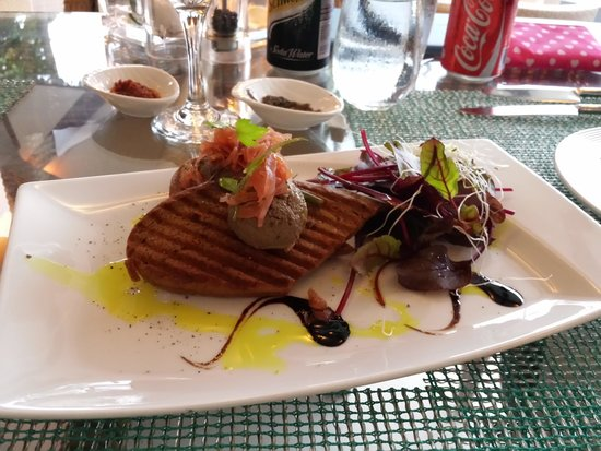 The Westin Langkawi Resort & Spa: The chicken liver pâté that is to die for!