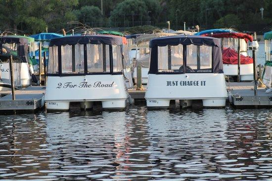 The Landing Grill & Sushi Bar: Boats