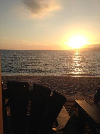 U FANALE : vu du coucher de soleil