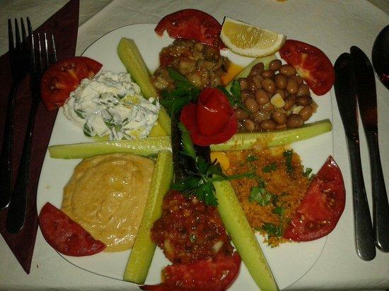Orient Restaurant: Selezione di antipasti