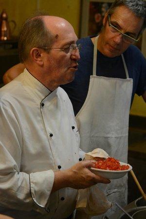 Chef Paolo Monti's Cucina Italiana Cooking School : Chef P. Monti