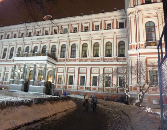 Feel yourself Russian: Nikolaevsky Palace