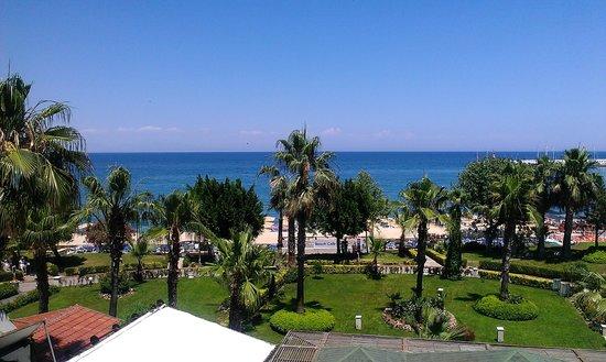 L'Ancora Hotel : Вид из нашего номера