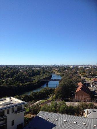 Meriton Suites George Street, Parramatta : View from our room ( 13th floor)