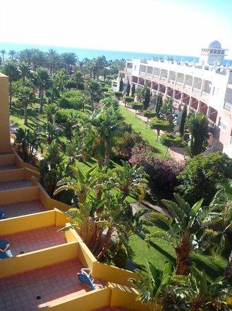 Zimbali Playa Spa Hotel: Vistas desde una habitación.