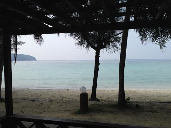 Arwana Perhentian Eco Resort & Beach Chalet: view from room