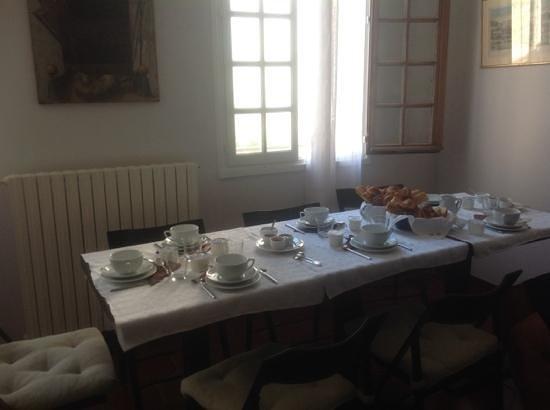 Le Bibion : prima colazione