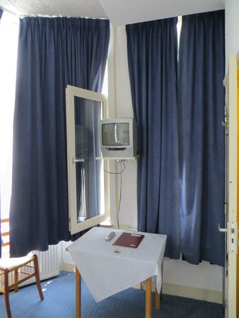 Hotel 't Witte Huys : Viele Fenster, zwei lassen sich sogar öffnen.