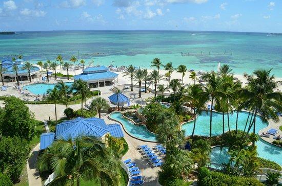 Melia Nassau Beach - All Inclusive: View from our balcony!