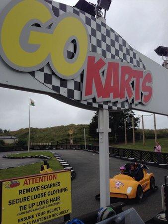 Presthaven Holiday Park: Go Karts