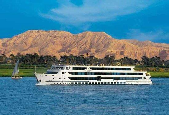 Nile River: So ein Schiff wars gewesen.