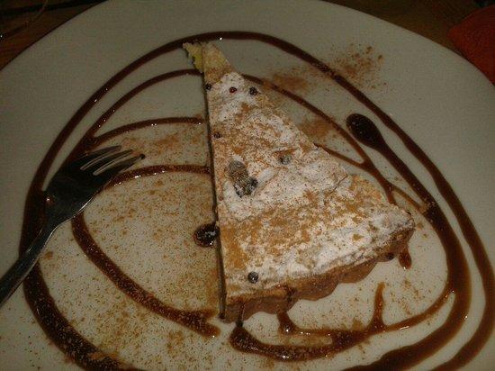 Cinque 50: Torta con crema e pinoli
