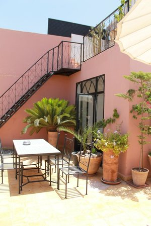 Riad Alboraq: Roof Terrace 1
