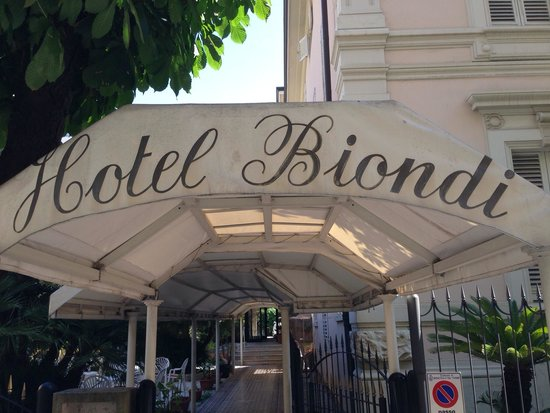 Hotel Biondi : Entré