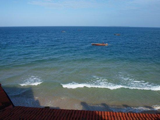 Zanzibar Serena Hotel: Aussicht aus Zimmer 57