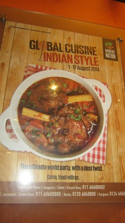 Barbeque Nation: Global Cuisine Indian Style