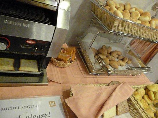 Michelangelo Hotel: 朝食
