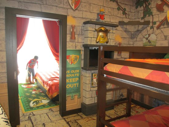 Bunk Bed In The Kingdom Theme Picture Of Legoland