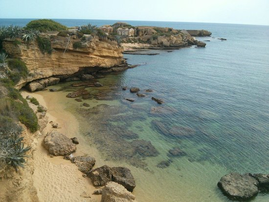 Parco Marino del Plemmirio : una delle tante spiagge.