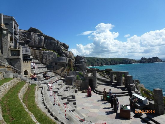 Minack Theatre : Rehearsal at the Minack