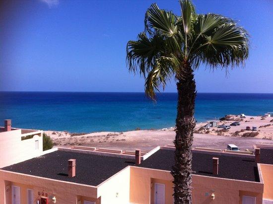 SENTIDO H10 Playa Esmeralda: VUE SUR LA MER DE LA CHAMBRE