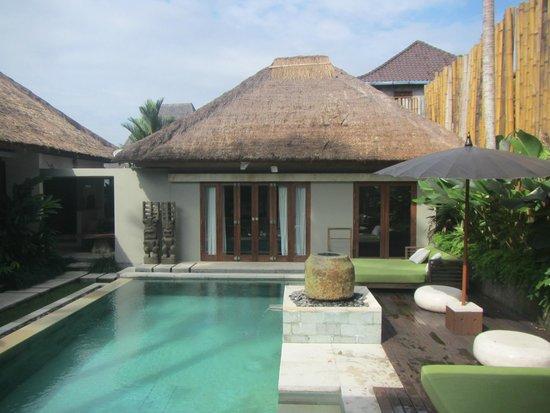 The Purist Villas and Spa : Garden Villa Pool Area
