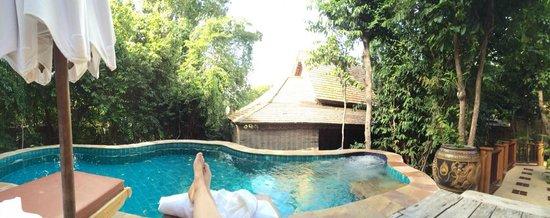 Santhiya Koh Phangan Resort & Spa : Piscine de notre chambre !
