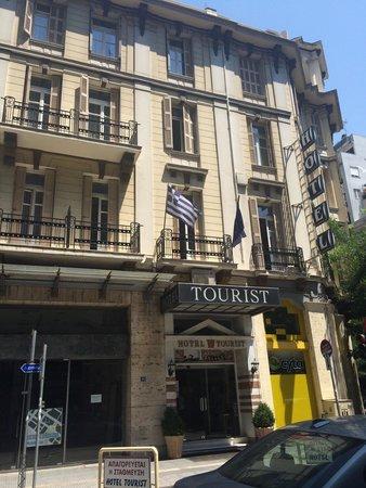 Tourist Hotel: Outside