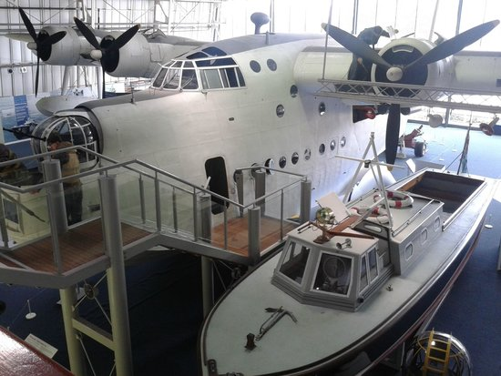 The Royal Air Force Museum London: Excellent Sunderland flying boat to walk through