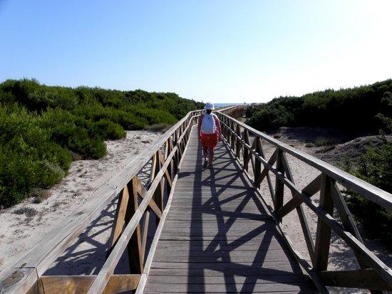 Valentin Playa de Muro: Accesso alla spiaggia