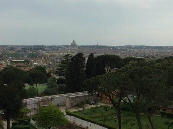 Sofitel Rome Villa Borghese : View from bar