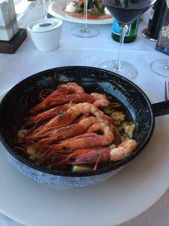 Restaurante Tosca Javea : My starter - Garlic prawns