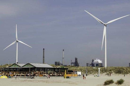 Dutch Pedelec Tours: From the Strand Noordpier, Velsen-Noord