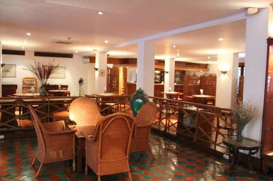 Best Western Vientiane Hotel : 朝食、夕食用レストラン