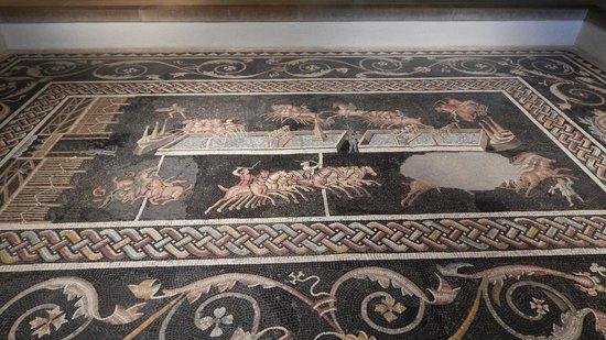 Vieux Lyon : Mosaico romano