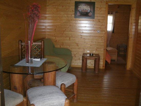 Apartamentos Rurales El Rincón del Jerte : salón-comedor