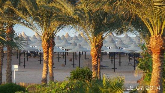 Jaz Mirabel Beach: view from room 1382