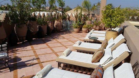 Riad Kniza: Terrace