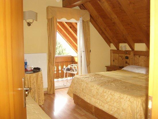 Hotel Da Barba: La stanza