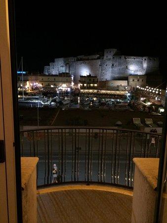 Grand Hotel Vesuvio: View from hotel room - castel Ovo