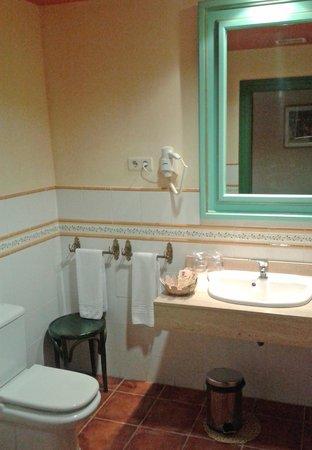 Palacete de la Ochava : Baño