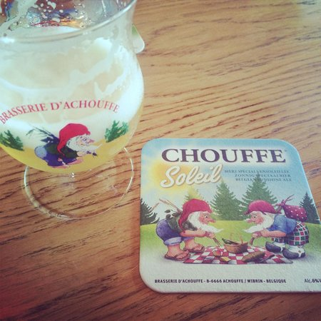 Brasserie d'Achouffe: Latest beer!