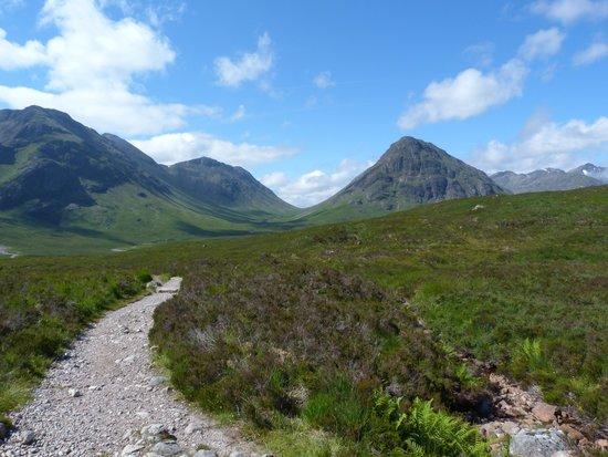 West Highland Way: sur la WHW
