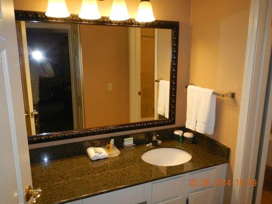 Homewood Suites Seattle - Tacoma Airport / Tukwila: Bathroom one