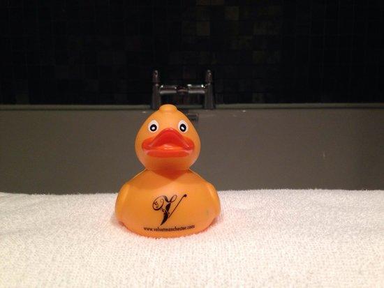 Velvet: Rubber duck