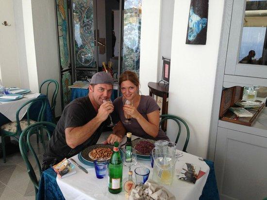 Tramonto d'Oro Restaurant: 1st Engagement photo