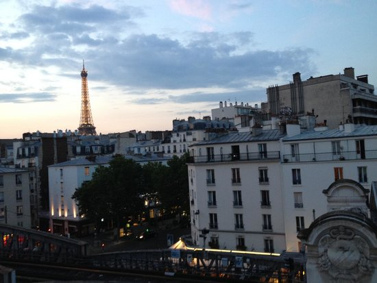Art Hotel Eiffel: view