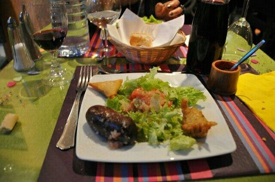 La Casa Tropical: Le boudin antillais