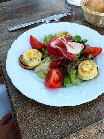 Le Relais d'Alsace : la salade de chèvre